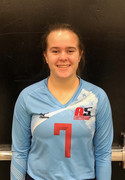 A5 Chattanooga Volleyball Club 2021:  #7 Kylie Barry