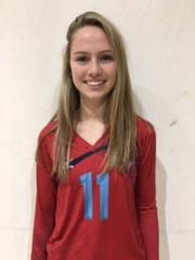 A5 Chattanooga Volleyball Club 2021:  #11 Emma Allen