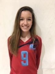 A5 Chattanooga Volleyball Club 2021:  #9 Emma Hayes