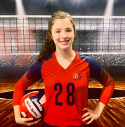 A5 Chattanooga Volleyball Club 2021:  #28 Abby Groce (Abby)