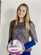 A5 Chattanooga Volleyball Club 2021:  #27 Paige Wenger